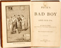 Books:Americana & American History, George W. Peck. Peck's Bad Boy and His Pa. Belford, Clarke& Co., 1883. First edition. Octavo. Illustrated by Ge...