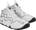 Basketball Collectibles:Others, Circa 2000 Scottie Pippen Game Worn Shoes....