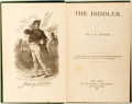 Books:Literature Pre-1900, A. E. Senter. The Diddler. M. Doolady, Publisher, 1868.First edition. Octavo. Illustrated. Publisher's original...