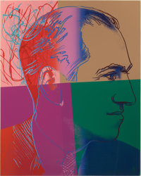 ANDY WARHOL (American, 1928-1987) George Gershwin (from the Ten Portraits of Jews of the Twentieth C