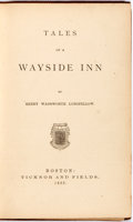 Books:Literature Pre-1900, Henry Wadsworth Longfellow. Tales of a Wayside Inn. Boston:Ticknor and Fields, 1863. First edition with twenty-two ...
