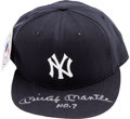 Baseball Collectibles:Hats, 1990's Mickey Mantle Signed New York Yankees Cap - UDA. ...