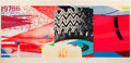 Prints:Contemporary, JAMES ROSENQUIST (American, b. 1933). F-111 (South, West, North,East, four works), 1974. Lithographs with screenprint i...(Total: 4 Items)