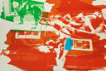 Fine Art - Work on Paper:Print, ROBERT RAUSCHENBERG (American, 1925-2008). Rust Pursuit(from the Illegal Tender L.A. series), 1992.Lithograph ...