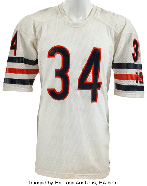 6f7a49b95fd ... Football Collectibles:Uniforms, 1984-87 Walter Payton Game Worn Chicago  Bears Jersey, ...