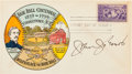 Autographs:Others, 1939 John Evers Signed First Day Cover....