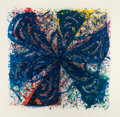 Prints, SAM FRANCIS (American, 1923-1994). Untitled, 1979. Lithograph in colors. 60 x 60 inches (152.4 x 152.4 cm) sheet. Ed. 11...