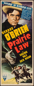 "Movie Posters:Western, Prairie Law (RKO, 1940). Insert (14"" X 36""). Western.. ..."