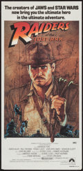 "Movie Posters:Adventure, Raiders of the Lost Ark (Paramount, 1981). Australian Daybill(13.25"" X 28""). Adventure.. ..."