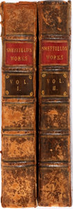 Books:Literature Pre-1900, [John Sheffield]. The Works of John Sheffield, Earl of Mulgrave,Marquis of Normanby, and Duke of Buckingham, In Two Vol... (Total:2 Items)