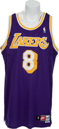 Basketball Collectibles:Uniforms, 1998-98 Kobe Bryant Game Worn Los Angeles Lakers Jersey. ...