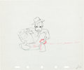 Animation Art:Production Drawing, Honey Harvester Donald Duck Production Drawing Animation Art(Walt Disney, 1949)....