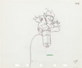 Animation Art:Production Drawing, The Riveter Donald Duck Production Drawing Animation Art(Walt Disney, 1940)....
