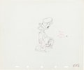 Animation Art:Production Drawing, The Hockey Champ Donald Duck Production Drawing AnimationArt (Walt Disney, 1939)....