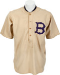 Baseball Collectibles:Uniforms, 1923 Johnny Cooney & Ernie Padgett Game Worn Boston BravesJersey....