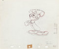 Animation Art:Production Drawing, Canine Caddy Mickey Mouse Animation Art Production Drawing(Walt Disney, 1941)....