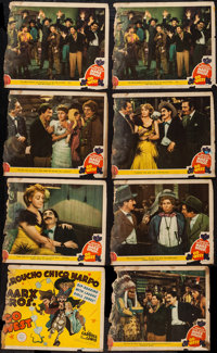 """Go West (MGM, 1940). Title Lobby Card & Lobby Cards (7) (11"""" X 14""""). Comedy. ... (Total: 8 Items)"""