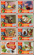 "Movie Posters:Animation, The Adventures of Ichabod and Mr. Toad (RKO, 1949). Lobby Card Setof 8 (11"" X 14""). Animation.. ... (Total: 7 Items)"