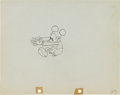 Animation Art:Production Drawing, The Whoopee Party Mickey Mouse Production Drawing AnimationArt (Walt Disney, 1932)....