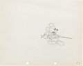 Animation Art:Production Drawing, Shanghaied Mickey Mouse Production Drawing Animation Art(Walt Disney, 1934)....