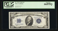 Small Size:Silver Certificates, Fr. 1703 $10 1934B Silver Certificate. PCGS Gem New 66PPQ.. ...