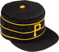 Baseball Collectibles:Hats, Circa 1982 Willie Stargell Game Worn Pittsburgh Pirates Cap....