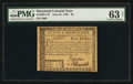 Colonial Notes:Maryland, Maryland June 28, 1780 $5 PMG Choice Uncirculated 63 Net.. ...