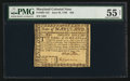 Colonial Notes:Maryland, Maryland June 28, 1780 $20 PMG About Uncirculated 55 Net.. ...