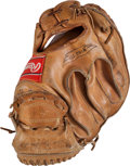 Baseball Collectibles:Others, Circa 1970 Elrod Hendricks Game Used Catcher's Mitt....