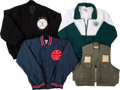 Baseball Collectibles:Others, Ted Williams Personal Jackets Lot of 4....