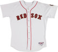 Baseball Collectibles:Uniforms, 2005 Trot Nixon Opening Day Game Issued Boston Red Sox Jersey. . ...