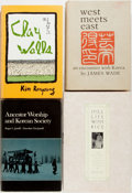 Books:Biography & Memoir, [Korea]. Group of Four Books About Korea and Koreans. Various publishers, [1975-1996]. Publishers' bindings in jackets. Some... (Total: 4 Items)