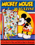 Platinum Age (1897-1937):Miscellaneous, Mickey Mouse Magazine #1 (K. K. Publications/ Western PublishingCo., 1935) Condition: FN....