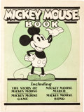 Platinum Age (1897-1937):Miscellaneous, Mickey Mouse Book Later printing (Bibo & Lang, 1931) Condition:Qualified FN....