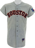 Baseball Collectibles:Balls, 1963-65 Houston Colt .45s/Astros Game Worn Jersey....