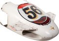 "Miscellaneous:Ephemera, Original ""Mallard"" Nose From 1969 Jim Hurtubise Indy 500 RaceCar..."