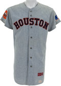 Baseball Collectibles:Uniforms, 1969 Larry Dierker Game Worn Houston Astros Jersey....