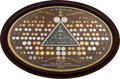 Transportation:Automobilia, 1908 Talbot Trophy Badge And Medallion Board From Talbot's LondonHeadquarters. ...