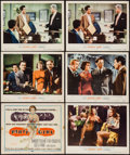 """Movie Posters:Film Noir, Party Girl (MGM, 1958). Title Lobby Card & Lobby Cards (5) (11""""X 14""""). Film Noir.. ... (Total: 6 Items)"""