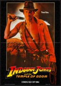 "Movie Posters:Adventure, Indiana Jones and the Temple of Doom (Paramount, 1984). Mini Poster(17"" X 24"") Advance. Adventure.. ..."