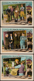 """Movie Posters:Drama, Tainted Money (Columbia, 1924). Lobby Cards (3) (11"""" X 14""""). Drama.. ... (Total: 3 Items)"""