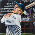 Baseball Collectibles:Others, Roy Hobbs Original Artwork....