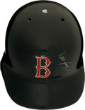 Baseball Collectibles:Others, 1980's Wade Boggs Game Worn Boston Red Sox Helmet. ...