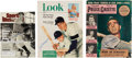 Autographs:Others, 1949-93 Joe DiMaggio Signed Magazines Lot of 3. ...