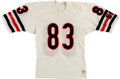 Football Collectibles:Uniforms, Circa 1985 Willie Gault Game Worn Chicago Bears Jersey. ...