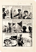 "Original Comic Art:Panel Pages, John Severin and Bill Elder Two-Fisted Tales #22 PartialStory ""Chicken"" Original Art Group (EC, 1951).... (Total: 6Original Art)"
