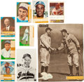 Autographs:Others, 1910-87 Ty Cobb, Honus Wagner, Mickey Mantle & More Signed Cuts Lot of 79....