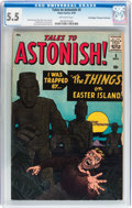 Silver Age (1956-1969):Horror, Tales to Astonish #5 Don/Maggie Thompson Collection pedigree(Marvel, 1959) CGC FN- 5.5 Off-white pages....