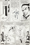Original Comic Art:Panel Pages, Carmine Infantino and Sid Greene Flash #171 Justice Leagueof America and The Atom vs. Dr. Light Page 5 Original A...