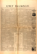 Books:Periodicals, [Newspaper]. The Cherokee Advocate, Vol. 20, No. 11. July1896. With the entire first page written in the Cherok...
